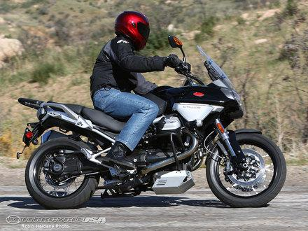 2009 Moto Guzzi Stelvio Review