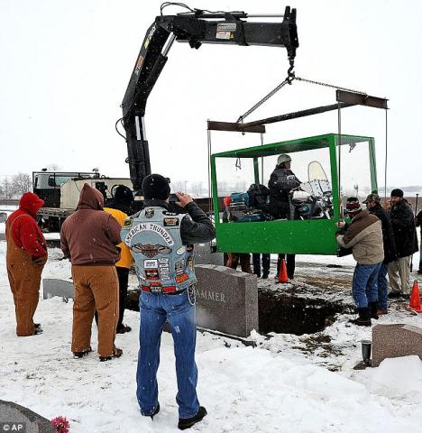 Man Gets Wish To Be Buried With Motorcycle | CycleTrader com