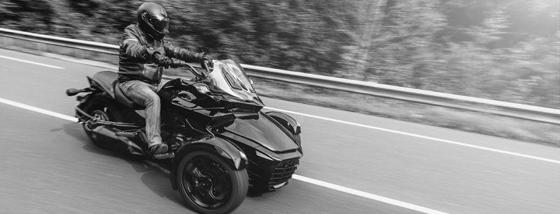 Three wheel motorcycles attract baby boomer riders